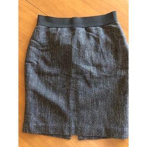 EXPRESS Herringbone Mini Skirt